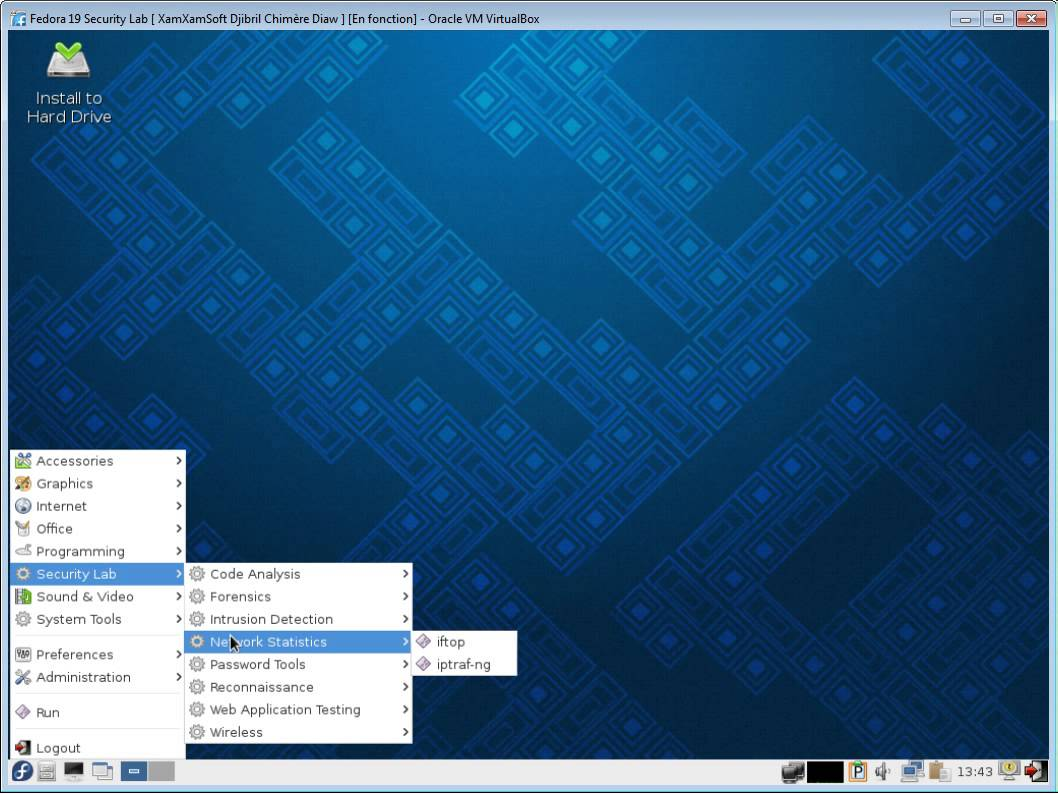 linux security lab 2 Evaluating qubes os as a penetration testing to my sys-net qube to allow me to connect to my lab's wifi kali-linux-xfce-20162-amd64.